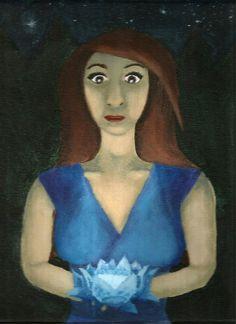 Study in blue by ImaginativeWanderer on deviantART