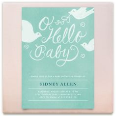 baby shower board Inspiration Board, curated by Kathryn at Minted