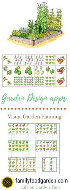 Garden apps for visual garden planning