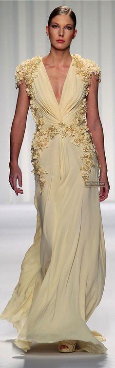 Abed Mahfouz Couture Primavera Verão 2013