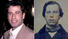 John Travolta ~ Civil War photo