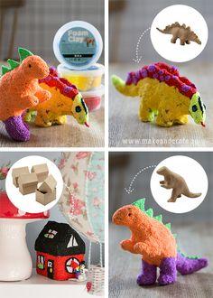 Klä pappfigurer med lera - Pyssel & pysseltips - Make & Create