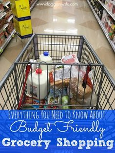 Want to save money on groceries? Find out everything you need to know for budget friendly grocery shopping. No, seriously. Everything!