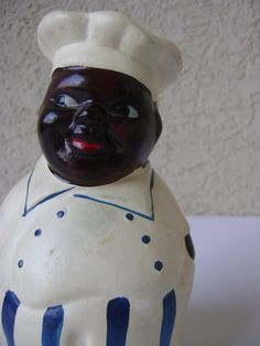 Vintage Black Americana Piggy Bank by HallesHouse on Etsy, $18.00