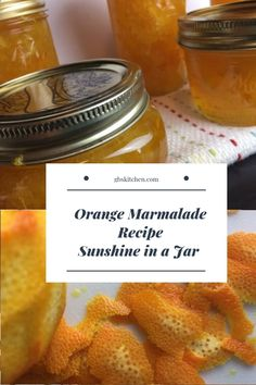 Old-Fashioned Orange Marmalade. Sunshine in a Jar! Healthy Eating Tips, Healthy Nutrition, Orange Marmalade Recipe, Oranges And Lemons, Vegetable Drinks, New Recipes, Recipies, Favorite Recipes, Canning Recipes