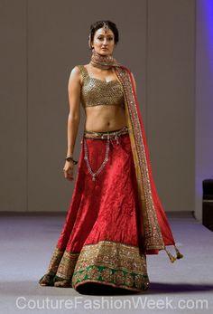 Beautiful Lehenga at Jewel of India Fashion by Madhu Manyal NYC http://www.facebook.com/media/set/?set=a.466115880077616.105464.374506742571864=3 Desi, Indian Fashion via @sunjayjk