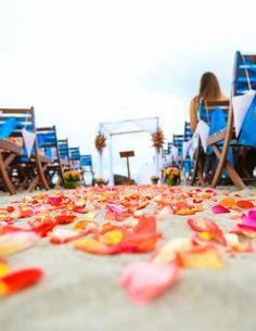 Beach ceremony !