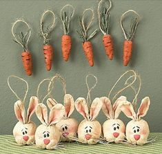 Easter Ornaments by rustic-country, via Flickr