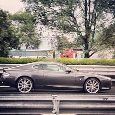 A wonderful sleek Aston Martin DB9 #motorboatingfunny