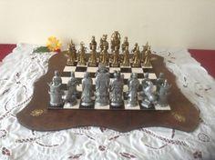 Stunning Vintage Chess Set Antique Chinese от ScottsFrenchTreasure