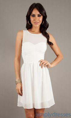 graduation dresses | Short Casual Dress, Short White Graduation Dress - Simply Dresses