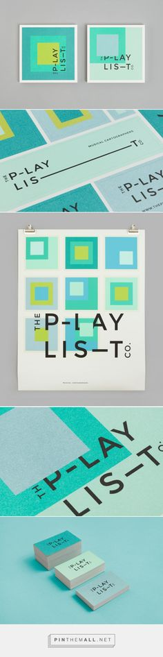 New Brand Identity for The Playlist Co. by Blok — BP&O - created on 2016-05-18 11:41:50