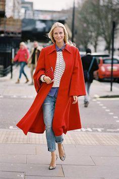 London Fashion Week AW 2014....Poppy - Vanessa Jackman