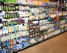 Beauty Supply Store Shelving and Fixtures