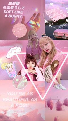 Black Pink Songs, Black Pink Kpop, Lisa Blackpink Wallpaper, Pink Wallpaper Iphone, Blackpink Lisa, Aesthetic Pastel Wallpaper, Pink Aesthetic, Power Girl, Blackpink Poster