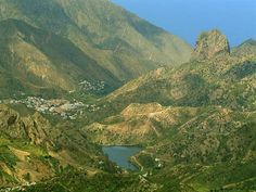 Valle gomero - Vallehermoso - #Gomera - #Canarias - #CanaryIslands - #Kanaren