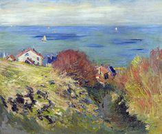 Pourville (C Monet - W 764),1882.