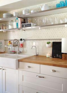 Farm Sinks For Kitchens Ikea looking for pics of kohler whitehaven installed ikea's standard