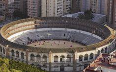 Bullfighting ring, Seville Spain