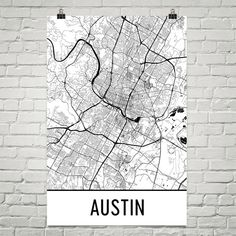 **MADE IN THE USA**  Youll love this amazing Austin Art Print! This Austin city street map shows all of the winding streets of Austin. This will fit any decor, and also make great gifts. If you love Austin, TX, this is for you!  Weve superimposed thousands of street lines over Austin to create this masterpiece. The different widths represent the size of the roads. Its an amazing map of Austin!  The frame/matte is not included. The default layout of the prints will be a half inch border a...