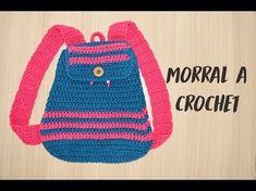 Tutorial crochet backpack || ransel rajut - YouTube