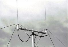 Simple ham ground plane antenna for VHF/UHF