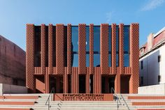 Saitowitz Architects, Raymond G. Perelman Center For Jewish Life, Филадельфия