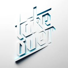 Neon Type & 3D Lettering Collection on Typography Served