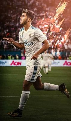 BLAZING Real Madrid Team, Ronaldo Real Madrid, Real Madrid Players, Ronaldo Soccer, Cristiano Ronaldo, Good Soccer Players, Football Players, Real Mardid, Equipe Real Madrid