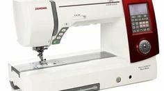 Janome Horizon MC 8900 QCP Special Edition rot im Makerist Materialshop