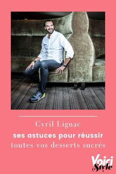 Fait maison n°3, c'est le tout dernier livre de recettes de Cyril Lignac, chef préféré des français. Il y partage de précieux conseils pour rendre vos préparations inratables. Une sélection de conseils du chef est à découvrir sur voici.fr Voici, Movie Posters, Movies, Best Life Hacks, Home Made, Tips, Films, Film Poster, Cinema