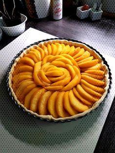 #cuisine #pèches #lété #audrey #tarte #cœur #coup #aux #mon #la #de La tarte aux pèches, mon coup de cœur de l'été | Audrey CuisineYou can find Easy peach dessert recipes and more on our website.La tarte aux pèches, mon cou...
