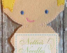 Agujas fieltro muñeca juego introductorio de Nettie