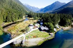 Photo Gallery of Clayoquot Wilderness Resort on Vancouver Island, British Columbia, Canada