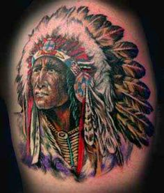 tribal tatoo 39 s on pinterest tribal wolf tattoos headdress tattoo and native american indians. Black Bedroom Furniture Sets. Home Design Ideas