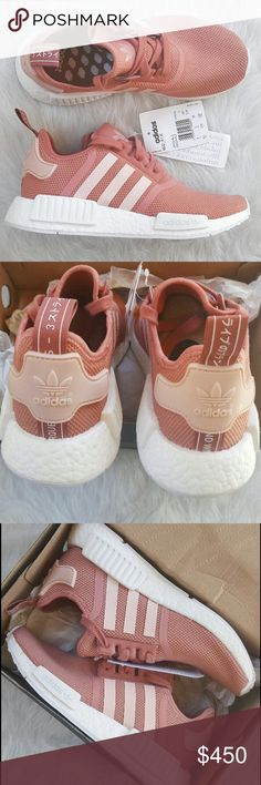 Women's Adidas NMD Raw Pink Brand new never worn adidas NMD in pink. Super cute shoes and vey rare color!! Size runs a bit big so they fit more like a size 9. Comes in original box. If you'd like more pictures please feel free to ask!! no trades Adidas Shoes Sneakers