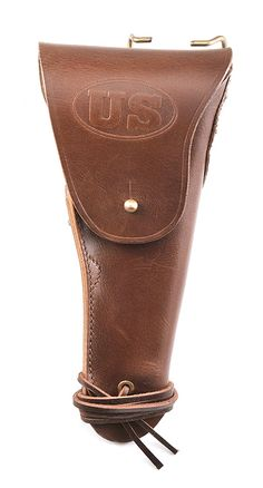M1916 Colt 1911 .45 Leather Holster - Right Hand (JT&L 1942)-Military Issue $33.00