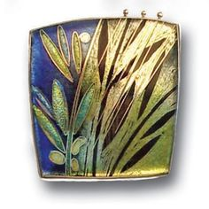 Carolyn Delzoppo - Brooch – Rainforest, 2007