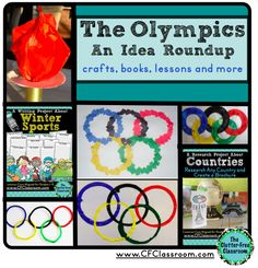 Winter Olympics Classroom Ideas, Crafts, and Resources {Winter Games/Sports} (Clutter-Free Classroom) Olympics Kids Crafts, Olympic Crafts, Olympic Idea, Olympic Games, Summer Reading Program, Classroom Themes, Classroom Crafts, Classroom Organization, Winter Crafts For Kids