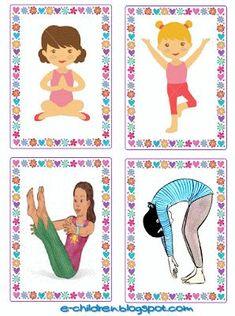 bird yoga poses for kids ~ bird yoga poses for kids Gross Motor Activities, Preschool Learning Activities, Gross Motor Skills, Preschool Classroom, Kids Learning, Poses Yoga Enfants, Kids Yoga Poses, Yoga For Kids, Exercise For Kids