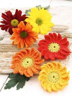 Für Anfänger: Anleitung für Häkelblumen