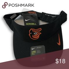 1cb5088be1f08 NWT Baltimore Orioles Nike Dri-Fit Vapor Visor Hat Baltimore Orioles Nike  Dri-Fit Aerobill Vapor Adjustable Visor Hat. Save money by bundling with  other ...