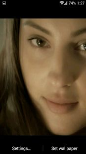 Girl HD. Video Wallpaper- miniatura screenshot