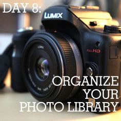 How to organize your photo library