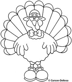 free carson dellosa coloring pages | Thanksgiving on Pinterest | Clip Art, Thanksgiving and ...