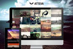 Atteva - Creative Blog and Portfolio by SyntaxThemes on @creativemarket