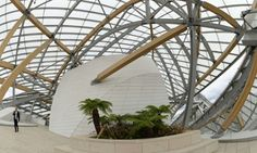 . Louis Vuitton Foundation designed by Frank Gehry. Photograph: Bertrand Guay/AFP/Getty Images