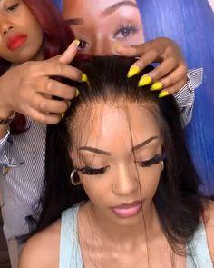 Short Lace Front Wigs, Short Bob Wigs, Short Hair Wigs, Human Hair Wigs, Frontal Hairstyles, Wig Hairstyles, Straight Hairstyles, Wig Styles, Short Hair Styles