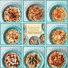 Banish breakfast boredom with a tasty bowl of cholesterol-lowering oatmeal. These delightful and surprising oatmeal recipes are low in fat, calories, and sodium and ensure that you'll never have a dull morning. #YAYOATS