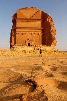 Al-Hijr Archaeological Site (Madâin Sâlih) in Saudi Arabia is a UNESCO World Heritage Site.